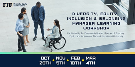 Diversity, Equity, Inclusion & Belonging Manager Learning Workshop tickets