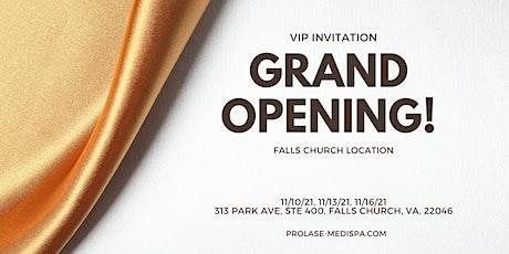 Grand Opening: Prolase Medispa Falls Church location tickets