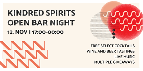 Kindred Spirits Open Bar Night tickets