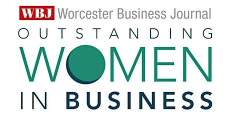 Worcester Business Journal Outstanding Women in Business Awards 2021 tickets