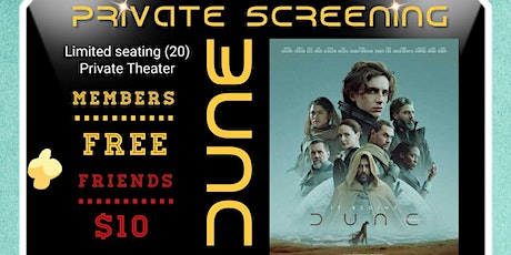 Private Screening of DUNE with Gay Vista Social Club tickets