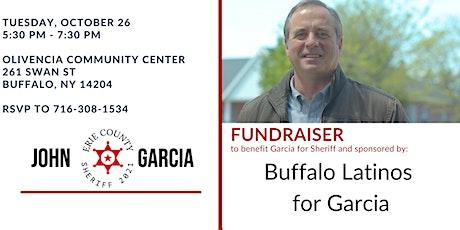 October 26th -Buffalo Latinos for Garcia tickets