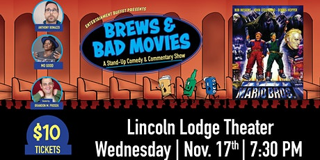 Brews and Bad Movies tickets