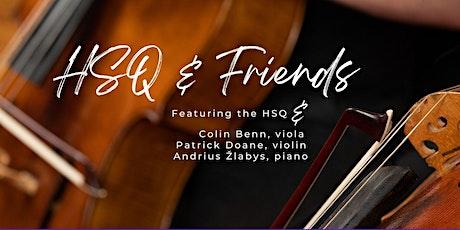 HSQ & Friends featuring Colin Benn, Patrick Doane, Andrius Žlabys tickets