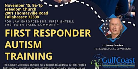 First Responder Autism Training tickets