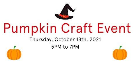 Pumpkin Craft Event tickets