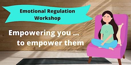 Emotional Regulation Workshop tickets