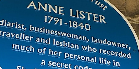 An Evening with Helena Whitbread. Anne Lister as Byronic Hero, Gothic Lady tickets