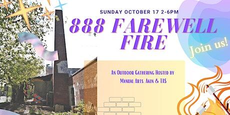 888 Farewell Fire tickets