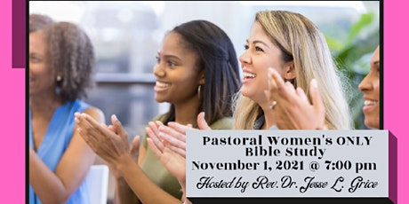Pastoral Women's ONLY Bible Study - November 1 tickets