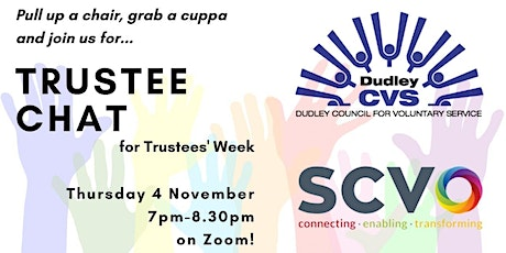 Trustee Chat for Trustees' Week tickets