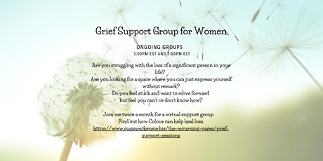 Grief Support Group for Women tickets