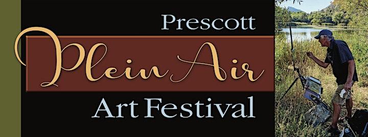 Prescott Plein Air Art Festival  2021 Sale and Reception image