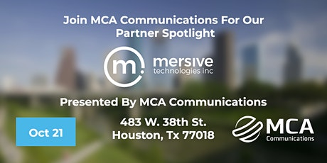 MCA and Mersive Present: The Future of Hybrid Collaboration tickets