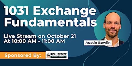 1031 Exchange Fundamentals tickets