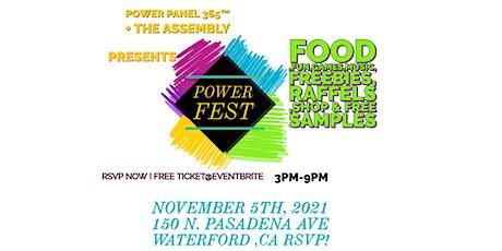 power panel 365 power fest community pop shop tickets