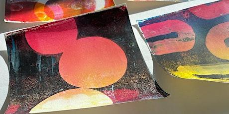 Gel Plate Printing Workshop tickets