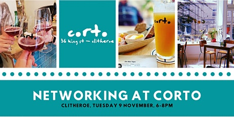 Business networking at Corto bar in Clitheroe - November 2021 tickets