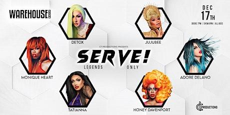 SERVE! tickets