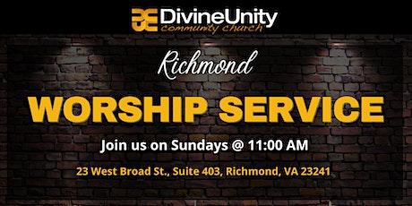 DUCC RVA  Worship Service tickets