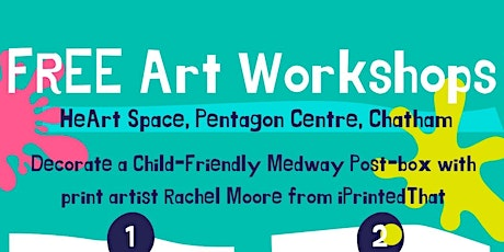 FREE Art Workshops for children and young people tickets