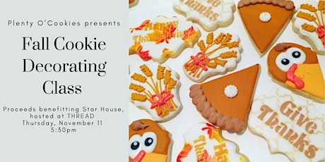 Cookie Decorating with Plenty O'Cookies at THREAD, benefitting Star House tickets