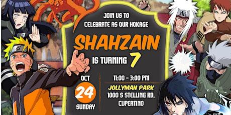 Shahzain's 7th Birthday tickets