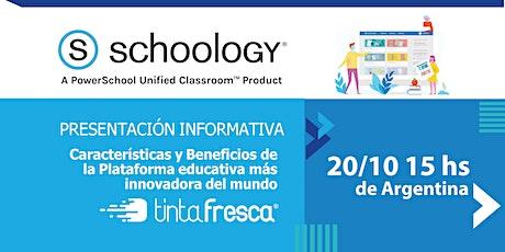 Plataforma educativa SCHOOLOGY:  Innovación, características y beneficios. entradas