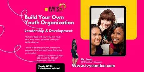 Build Your Own Youth Organization tickets