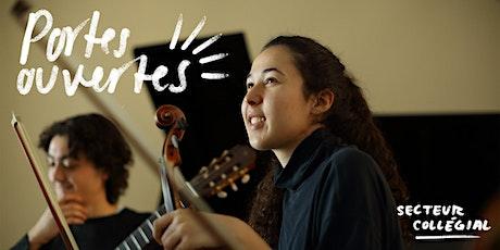 Portes ouvertes du secteur collégial de l'École de musique Vincent-d'Indy billets