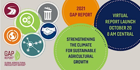 2021 Global Agricultural Productivity Report Launch tickets