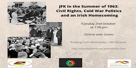 Online talk on JFK in the Summer of 1963 tickets