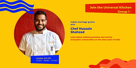 Exploring Indian Heritage Grains with Chef Hussain Shahzad tickets