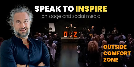 Speak to inspire - on events and social media tickets