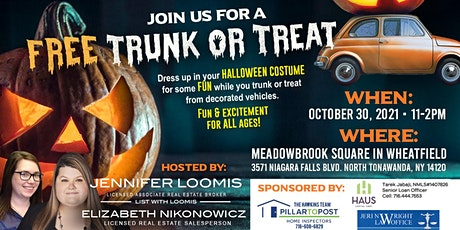 FREE Trunk or Treat tickets