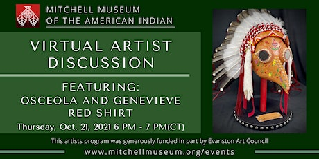 Virtual Artist Discussion with Osceola and Genevieve Red Shirt tickets