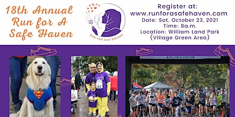 18th Annual Run for a Safe Haven: Run for Our Dreams tickets