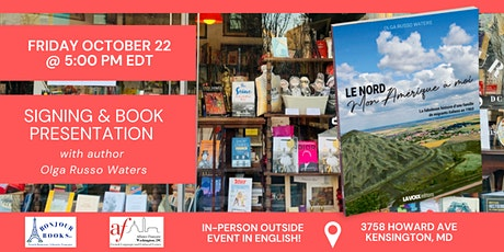 IN-PERSON Signing & Book Presentation with Olga Russo Waters tickets