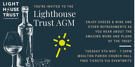 Lighthouse Trust (Northampton) AGM and information evening tickets