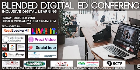 Blended Digital Ed Conference 2021 - Inclusive Digital Learning tickets