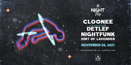 Cloonee, Detlef, Nightfunk tickets