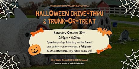 Halloween Drive-Thru & Trunk-or-Treat tickets