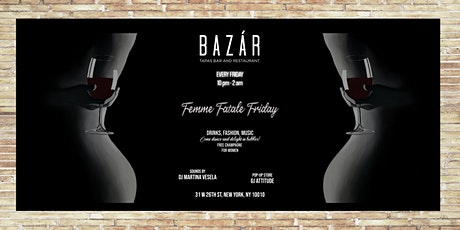 FEMME FATALE FRIDAY tickets