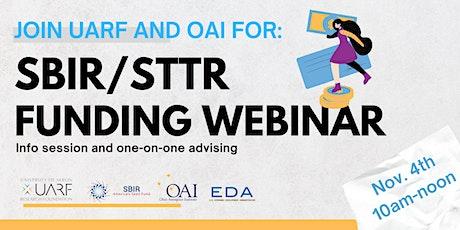 SBIR/STTR Program Info Session tickets