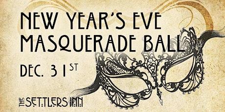 Settlers Inn New Year's Eve Masquerade Ball tickets