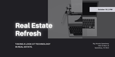 Real Estate Refresh: Technology in Real Estate tickets