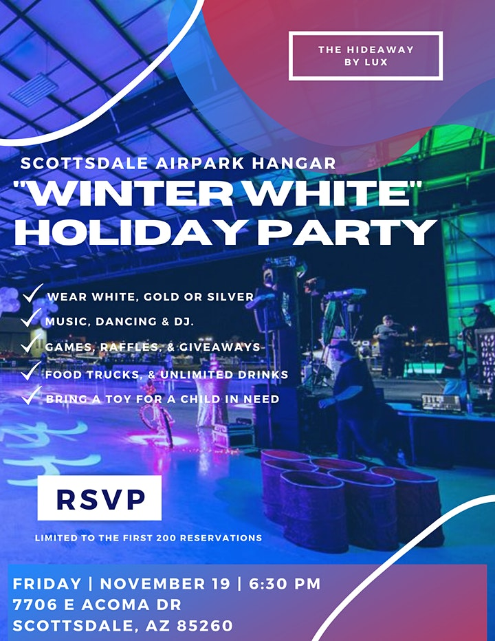 """""""Winter White"""" Holiday Event image"""