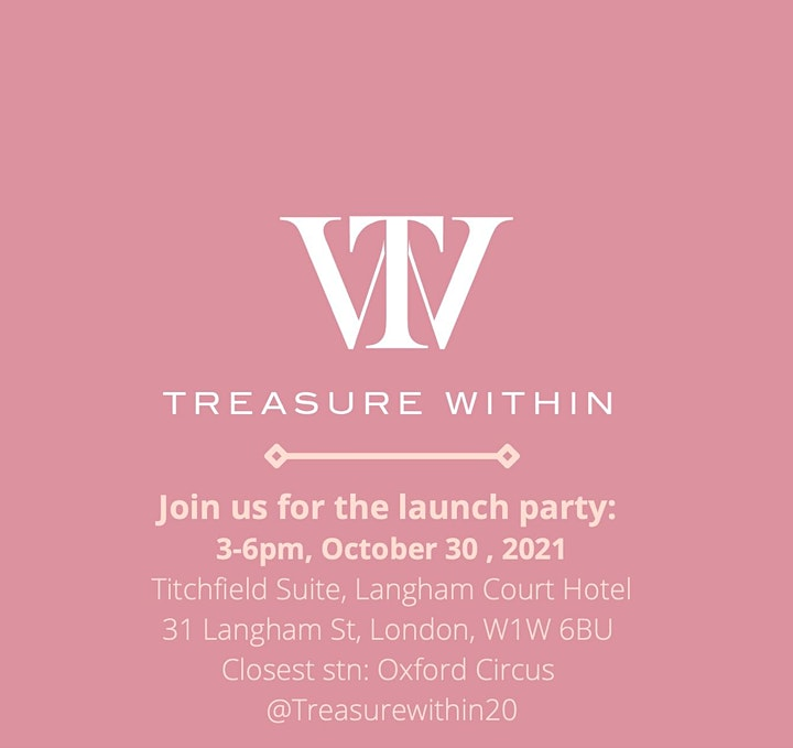Treasure Within Launch Party image