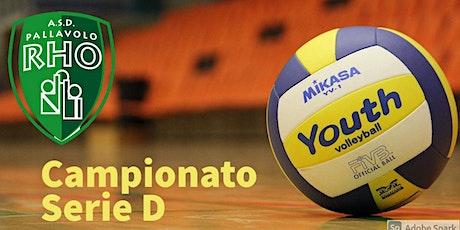 Volley Serie D - MAPI Pallavolo Rho Viscontini Tea Consulting biglietti
