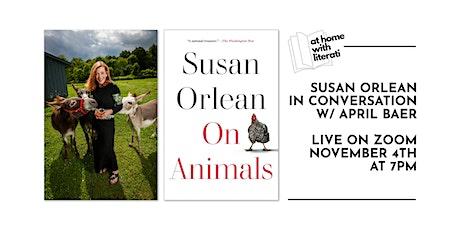 Susan Orlean: On Animals tickets